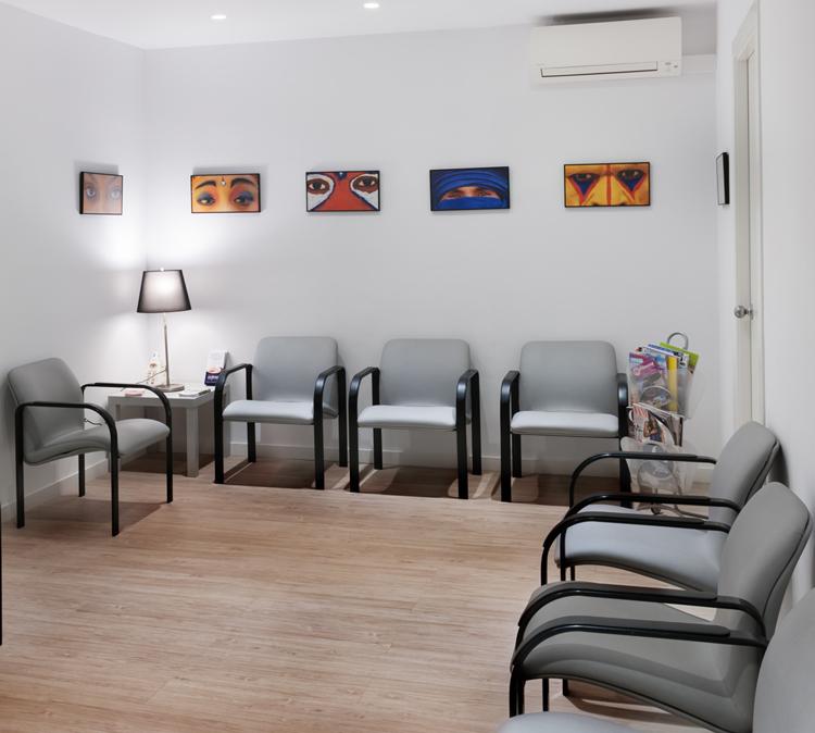 Clínica Badia - Sala de espera